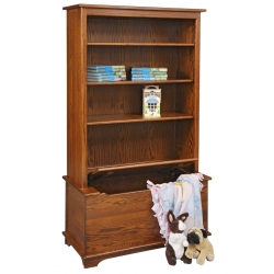 Bookcase with Toy Box
