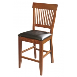 "30"" Superior Mission Side Bar Chair"