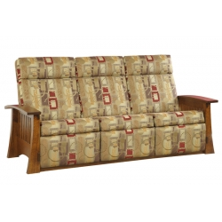 Craftsman Mission Wallhugger Sofa Recliner