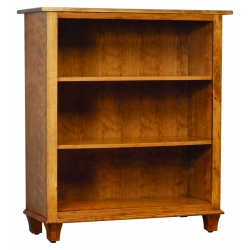 """Integ 36"""" Bookcase - Bourten Style - Rustic Cherry w/ Capuccino Stain"""