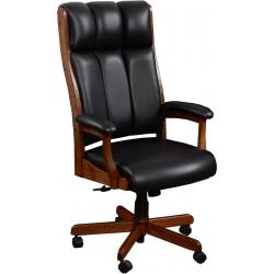 Bridgeport Leather Desk Chair