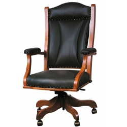 Buckingham Leather Desk Chair