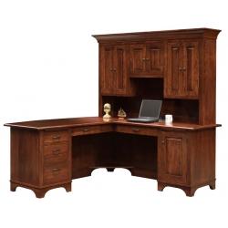 Finley Corner Desk and Hutch