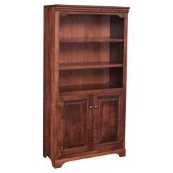 """Kingston 60"""" Bookshelf w/ Bottom Doors"""