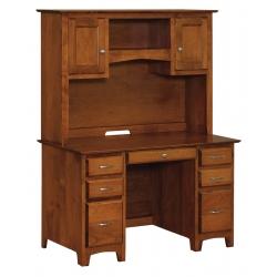 "Linwood 50"" Executive Desk & Hutch"