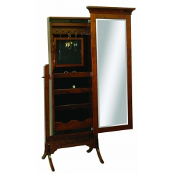 "Arlington Mirror - 53"" Jewelry Cheval"