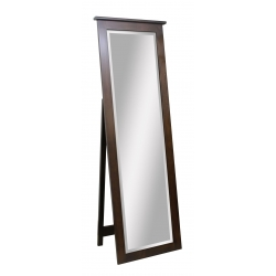 Traditional Shaker Leaner Mirror with Support