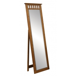 Open Top Mission Leaner Mirror with Support
