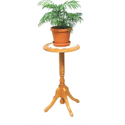 "30"" Rope Twist Plant Stand"