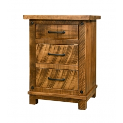Adirondack 3-Drawer Nightstand