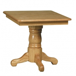 Country Square End Table