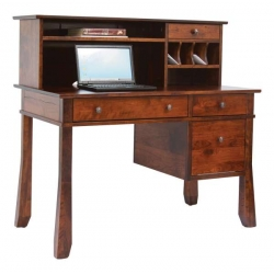 "Craftsman 62"" Computer Desk & Hutch"