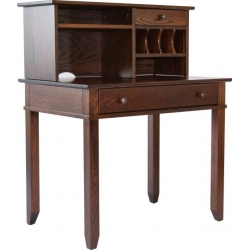 Craftsman Computer Desk & Hutch