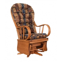 #191 Bow Back Swivel Glider