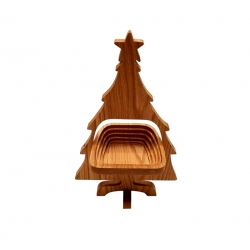 Christmas Tree Folding Basket