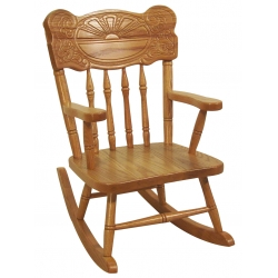 Child's Sunburst Rocker