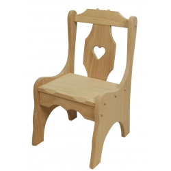 Child's Heart Chair