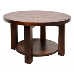Adirondack Round Coffee Table