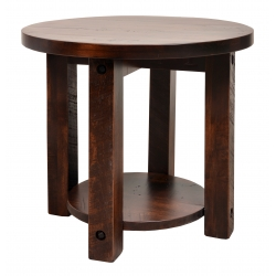 Adirondack Round End Table