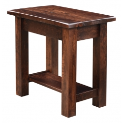 Barn Floor Chair Side Table