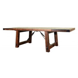 Benchmark Dining Table with Leaves