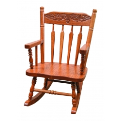 Child's Rocker - Acorn Back