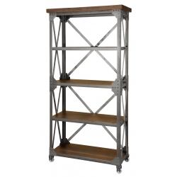 Iron Works Bookshelf