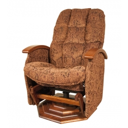 #197 NP Swivel Recliner Glider