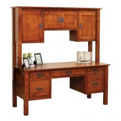 Post Mission Double Pedestal Desk