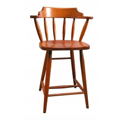 "24"" Pub Bar Chair - Plain"
