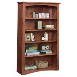 """Shaker 36"""" x 60"""" Bookcase"""