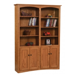 "Shaker 48"" x 72"" Bookcase with Doors"