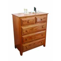 Miller's Traditional 5 Drawer Chest