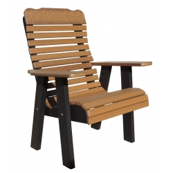 2' High Curve-Back Chair