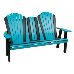 5' Adirondack Settee Bench