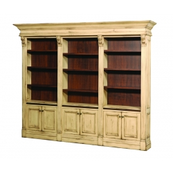 Serenity Triple Library Bookcase