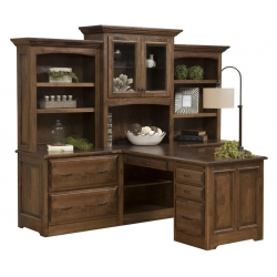 Liberty Partners Desk & 3 Piece Hutch