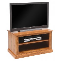 Traditional TV Unit with Adjustable Shelf