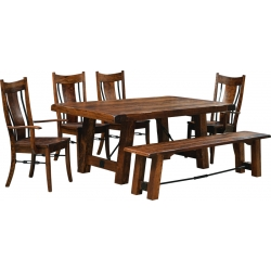 Eagle Trestle Dining Set