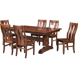 McKee Trestle Dining Set