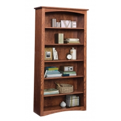 "Shaker 36"" x 72"" Bookcase - Oak"