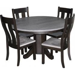 Silver Oak Dining Set