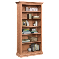 "Traditional 36"" x 72"" Bookcase"