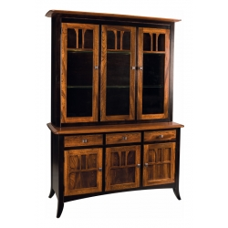 Christy 3 Door Hutch and Buffet
