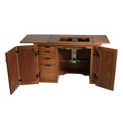 #162 Sewing Machine Cabinet - Open