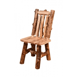 Aspen Wormy Maple Mini Chair