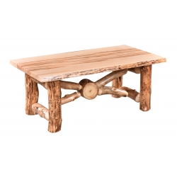 Aspen Wormy Maple Coffee Table