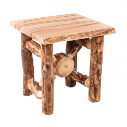 Aspen Wormy Maple End Table