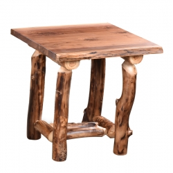 Aspen Walnut End Table