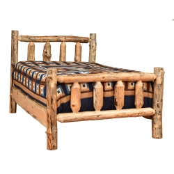 Knotty Pine Traditional Bed